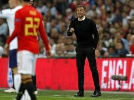 El equipo de Luis Enrique cierra su jornada internacional con amistoso. AFP