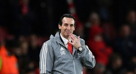 Unai Emery could well replace Bruno Lage at Benfica. AFP