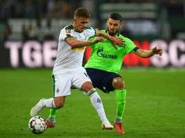 Thorgan Hazard estaría en la agenda del Atlético. AFP