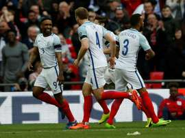 Defoe was back on the score sheet for England.