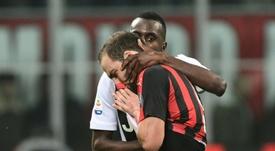 Higuaín fue expulsado ante la Juventus. AFP