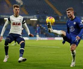 Spurs and Chelsea drew 0-0. AFP