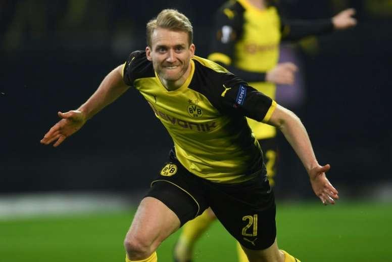 El Borussia también reaccionó a última hora. AFP