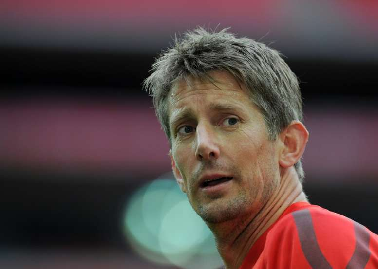 Goalkeeper Edwin van der Sar won an impressive haul of trophies in a glittering career for clubs including Juventus and Manchester United