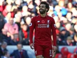 El futuro de Salah podría estar fuera de Liverpool. AFP
