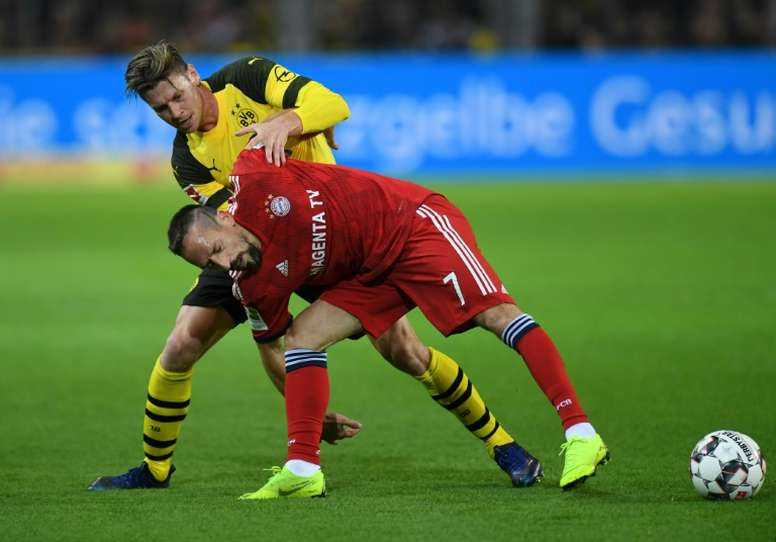 Les compos probables du match de Bundesliga entre le Bayern Munich et le Borussia Dortmund. AFP