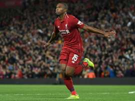 Sturridge is Liverpool's joint top scorer so far this season. AFP