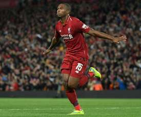 Sturridge is back with the first team. AFP