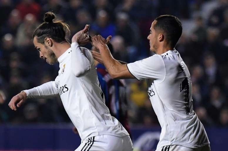 Gareth Bale poderá jogar os Clássicos no Bernabéu. AFP