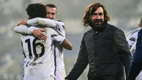 Pirlo évoque le rôle de Cristiano Ronaldo dans son équipe. AFP