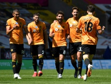 Wolves easily beat Everton 3-0 at Molineux on Sunday. AFP