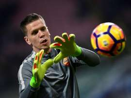Szczesny has played 12 times for Juventus this season. AFP
