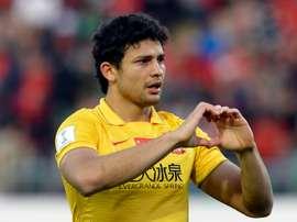 Atacante brasileiro defenderá a Seleção Chinesa. AFP
