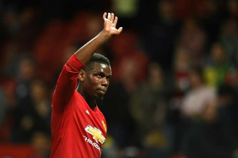 Pogba could earn 12 million euros at Real Madrid. AFP