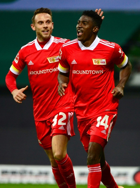 Awoniyi shone for Union Berlin. AFP