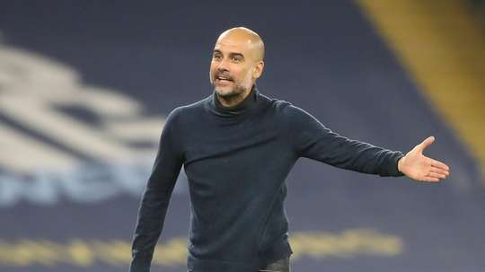 Pep Guardiola's Manchester City are looking to make additions. AFP