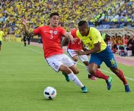 Enzo Roco podría acabar en Brasil. AFP
