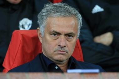 Mou ne connait pas son meilleur moment à United. AFP