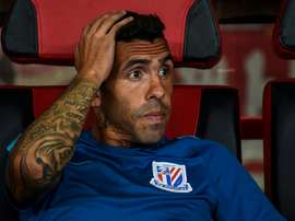 Tevez: CSL spell was a holiday. AFP
