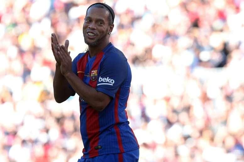 Le mythique ancien joueur brésilien est confiant quant au futur de Yerry Mina. AFP