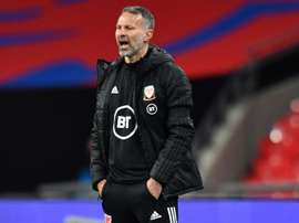 Giggs will miss game. AFP