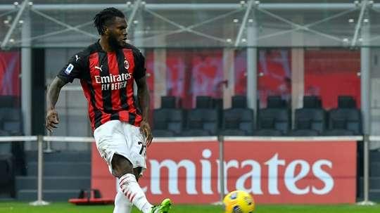 Kessié carica il Milan. AFP