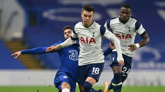 Tottenham have got a trip to Crosby to face Marine in the FA Cup. AFP