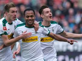 Monchengladbach got a vital 1-0 victory over Hannover. AFP