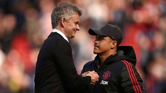 United counting on Alexis Sanchez next season. AFP