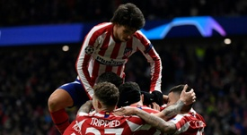 Relief for Atletico as win over Lokomotiv secures qualification. AFP