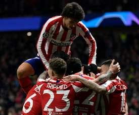 Relief for Atletico as win over Lokomotiv secures qualification. AFP