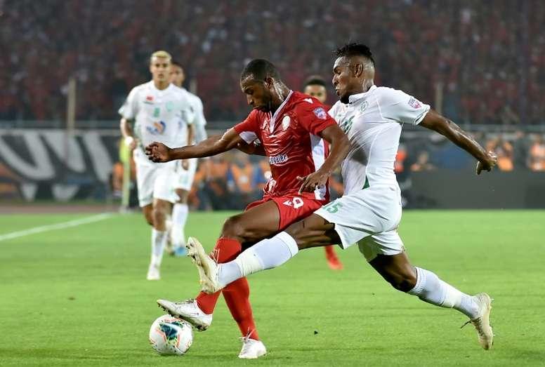 Wydad won 4-1. AFP