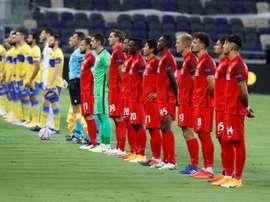 El Salzburgo ganó sin excesivos problemas al St. Polten. AFP
