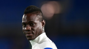 Balotelli tombe aux oubliettes. afp