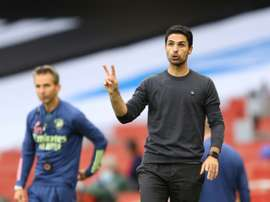 Mikel Arteta says Arsenal will not sell their stars. AFP