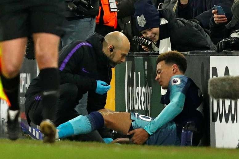 Del Alli quiere dejar de sufrir lesiones. AFP