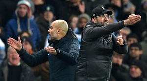 Lo mejor de la Premier 19-20: derbi de Mánchester, City vs Liverpool. AFP