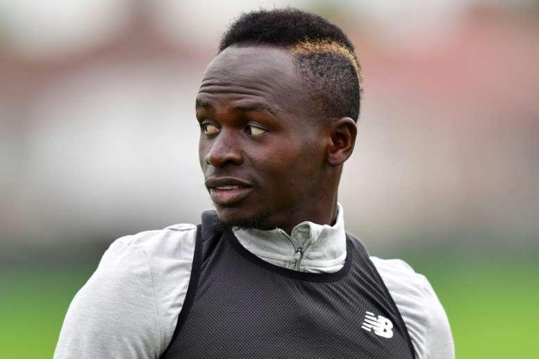 Mané est candidat au Ballon d'Or. AFP