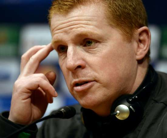 Neil Lennon has dismissed links with the Republic of Ireland job. AFP