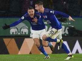 Leicester ne vendra pas cet hiver. AFP