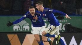 Leicester enfonce Arsenal. AFP