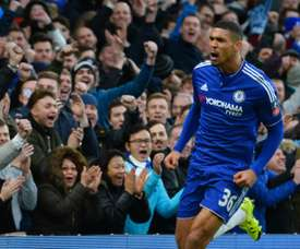 Loftus-Cheek brilló con un 'hat trick'. AFP