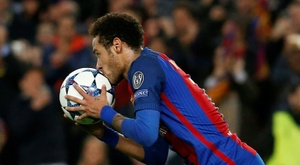 Barcelona encaminha retorno de Neymar. AFP