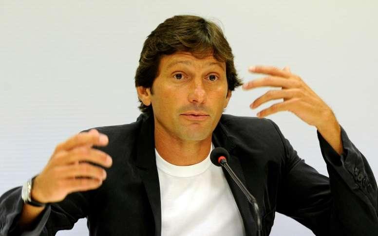 Leonardo estaria a um passo de sair do Milan. AFP