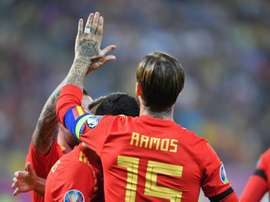 Sergio Ramos is ensured a place in Spanish football history. AFP