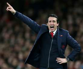 Unai Emery may be forced to enter the transfer market in January. AFP