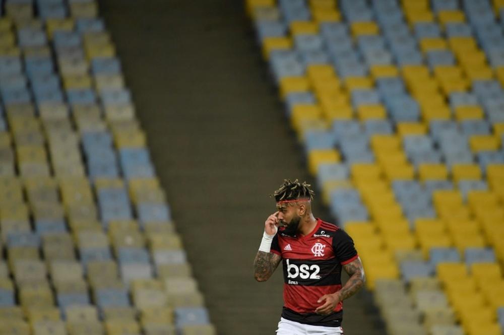 Gabigol vuelve a sonar para jugar en Europa. AFP