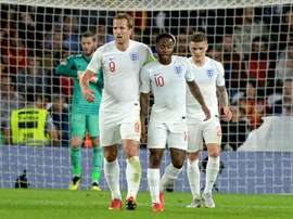 Raheem Sterling and Harry Kane could start for England against Switzerland. AFP