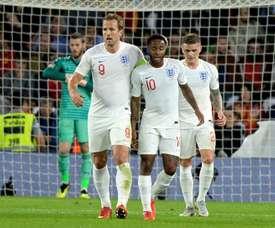 Gli inglesi conquistano il terzo posto. AFP