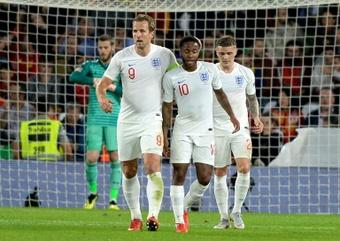 Los ingleses solo golean en su país... y cada vez menos. AFP
